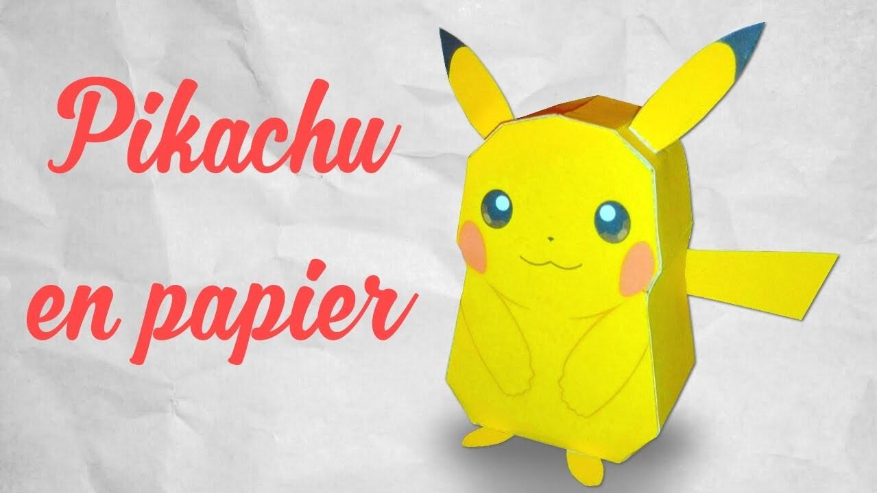Pikachu : ORIGAMI !, Origami ! Tête De