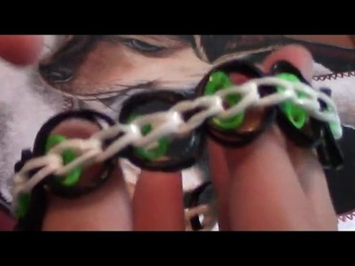 Comment faire un bracelet anneaux (modèle 2) avec des élastiques