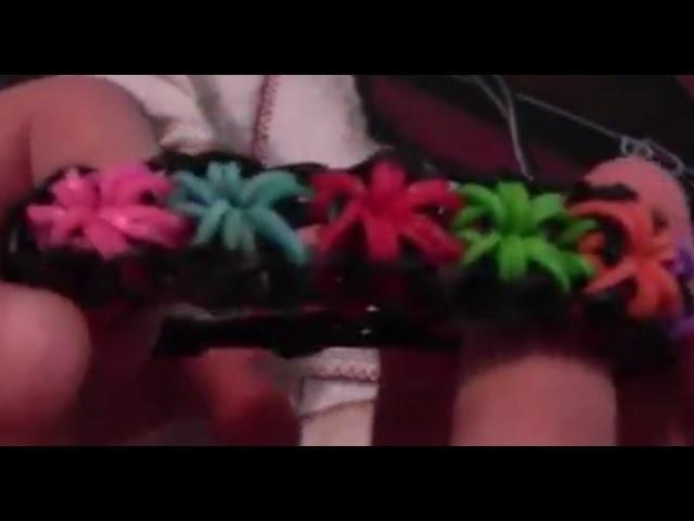 Comment faire un bracelet étoile avec des élastiques