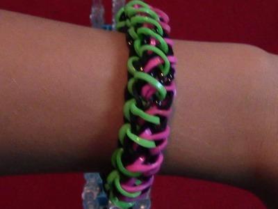 Comment faire un bracelet Miami Beach avec des élastiques