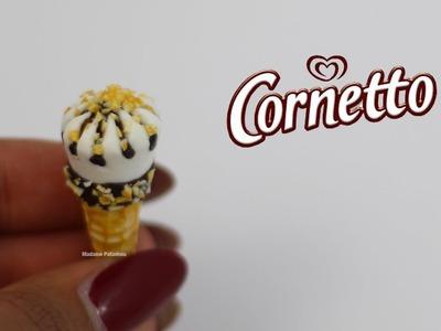 Glace inspiration Cornetto ⎪Fimo