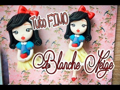 Tuto Chibi Blanche Neige, Fimo polymer Clay