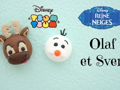 (TUTO) Olaf et Sven Tsum Tsum fimo
