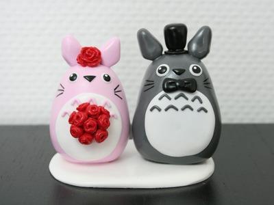 (TUTO) Topper Totoro en fimo