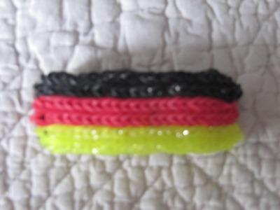 "Bracelet rainbow loom "" allemagne"""