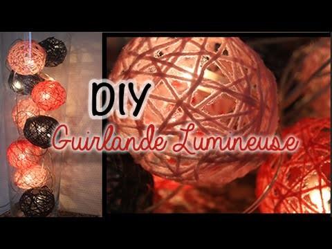 DIY ✂️ Guirlande Lumineuse Colorée