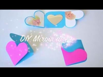 DIY Miroir de poche photo personnalisé, activité créative, idée cadeau fête des mères