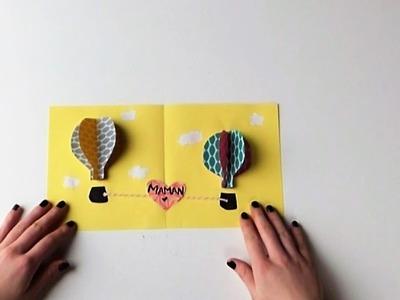 Réalise une carte en 3D pour la fête des mères ! - DIY