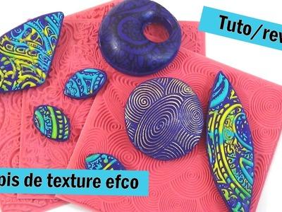 { Revue. Tuto } Tapis de texture efco. sutton slice, mica shift . .