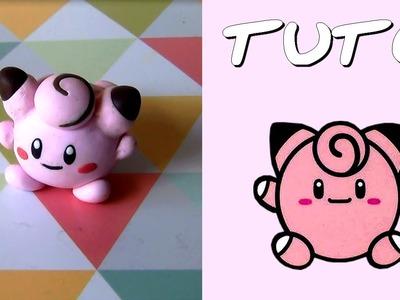 TUTO FIMO | Mélofée PokéPoupée. Clefairy PokeDoll (de Pokémon) ◊ FACILE ◊