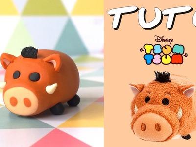 TUTO FIMO | Tsum Tsum Pumba (du Roi Lion) pour PgunMan !