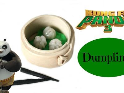 (TUTO) Kung Fu Panda 3 Dumplings Fimo Polymer Clay