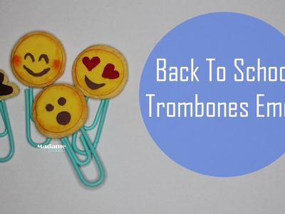 Back to school: Trombones Cookies Emoji