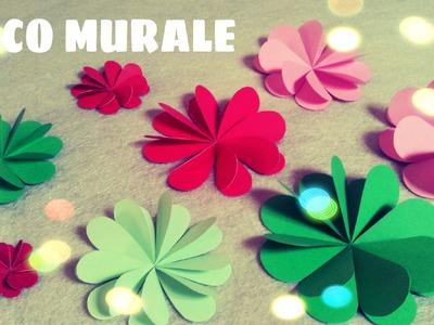 Origami facile - Fleur en papier facile - Décoration Chambre