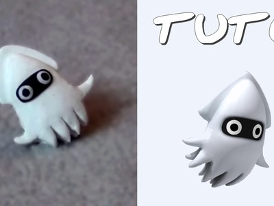 TUTO FIMO | Bloups. Blooper (de Mario)