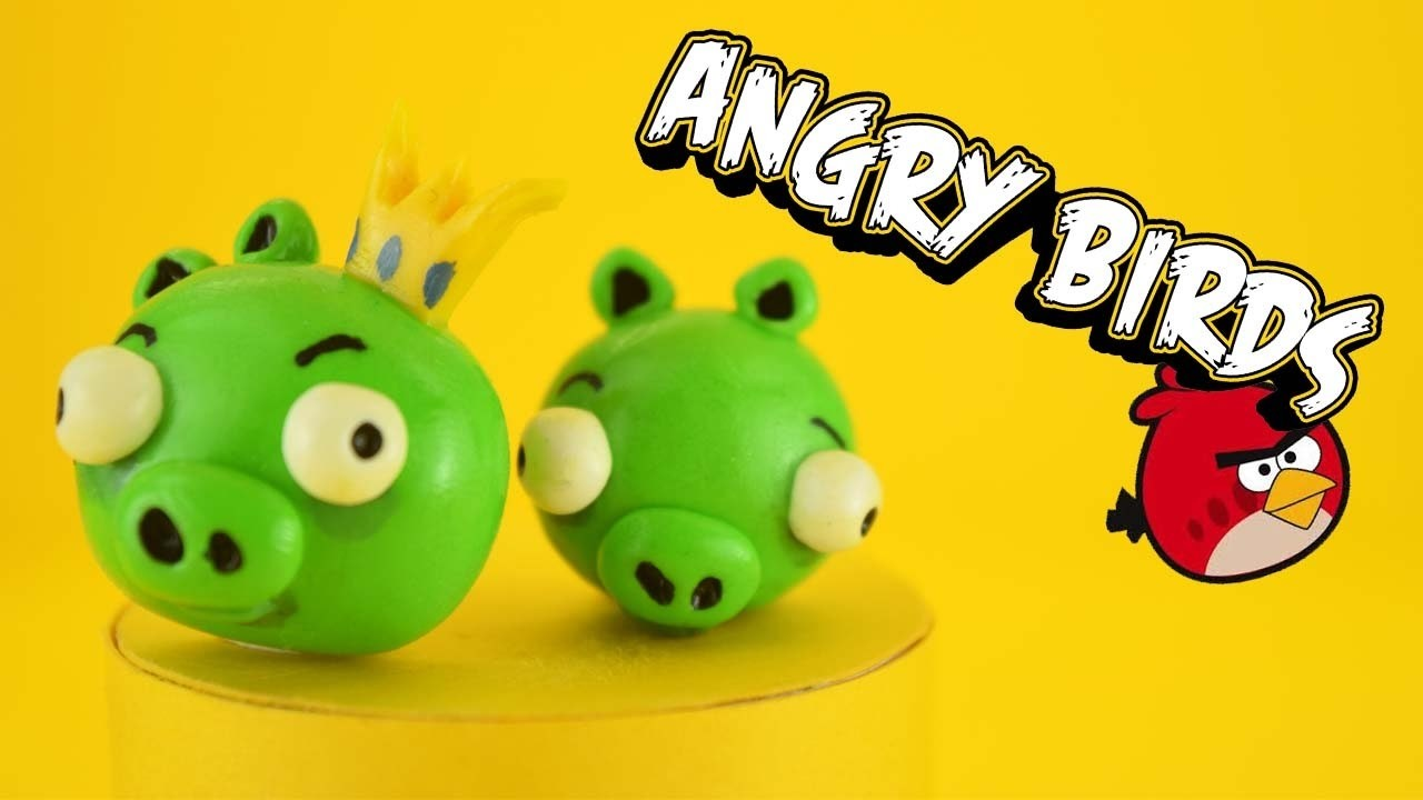 tuto fimo facile 4 angry birds. Black Bedroom Furniture Sets. Home Design Ideas