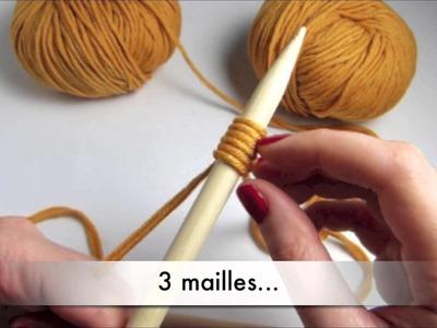 #Tricot - Tricoter avec 2 fils à la fois