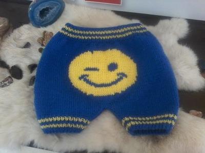 Tuto tricot layette : tricoter un short ( vice versa ) pour bébé