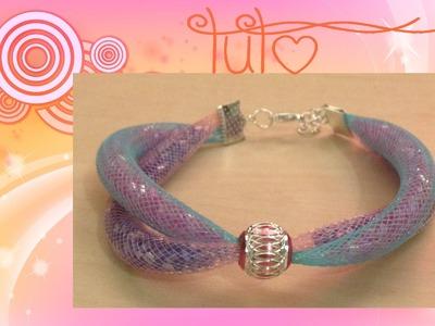 """[TUTO] Bracelet """"double résille"""" avec creavea.com"""