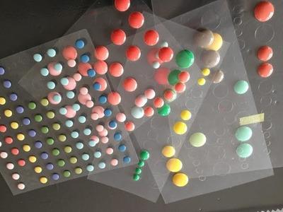 [Astuce scrapbooking] : Comment fabriquer ses enamels dots