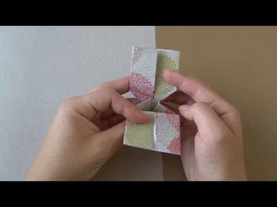 DIY - Do your origami node yourself | Fais ton noeud en origami toi-même