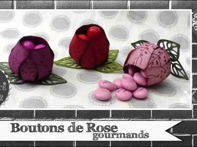"""Vidéo-Tuto """"Boutons de Rode Gourmands"""" par Coul'Heure Papier"""