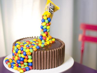 Réalisez un Gravity Cake aux M&M's®