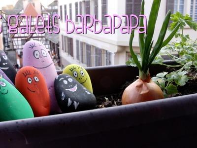 {DIY} Les galets barbapapa