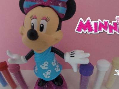 Minnie mouse coloriage pour enfants ,disney toys coloring diy en francais, and friends kids toys