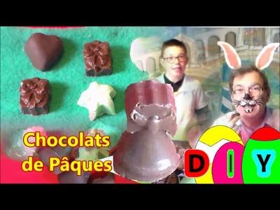 Pâques en chocolat DIY :  Recette gourmande