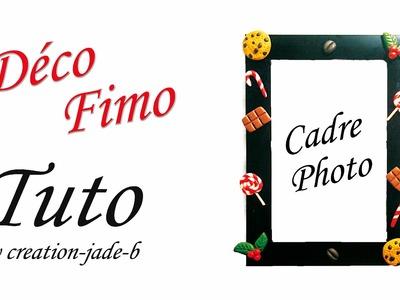 Fimo - Décoration cadre photo !