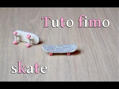 [tuto fimo] : skateboard (polymer clay)