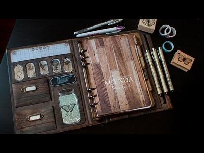 DIY : Mon Planner Cabinet de Curiosité. Back to School