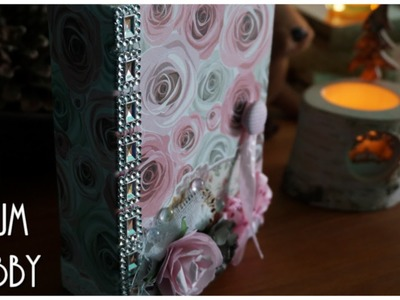 [ Tutoriel Mini Album n°2 ] : Un mini Shabby (Structure, Reliure & Pages)