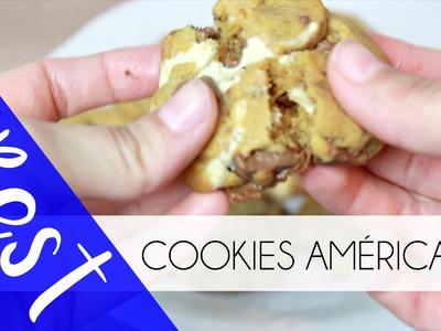 Une Recette pour les VRAIS Chocolate Chip Cookies des Etats-Unis ♡