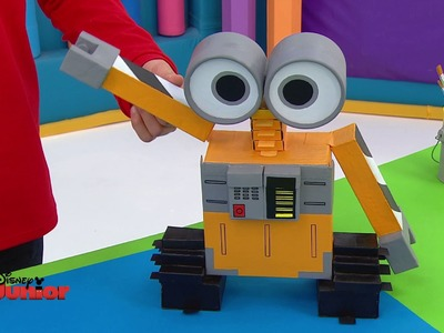Art Attack - Le robotnett - Disney Junior - VF