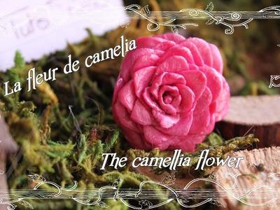 [♥✿ Tuto Fimo Fleur : Le camélia ✿♥] ~ [♥✿ Polymer Clay Tutorial : Camellia flower ✿♥]