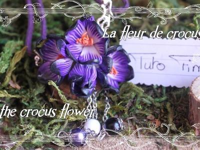 [♥✿ Tuto Fimo Fleurs : Le crocus ✿♥] ~ [♥✿ Polymer Clay Tutorial Flower : Crocus ✿♥]