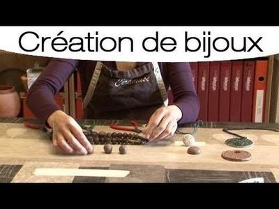 Accessoire : Créer des bijoux en argile