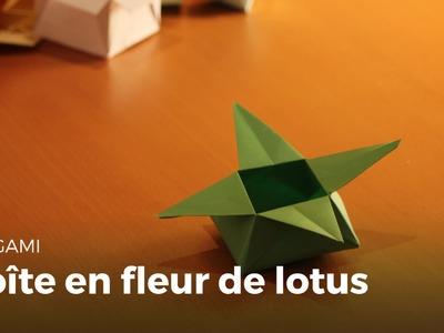 Boite En Papier Feuille De Lotus