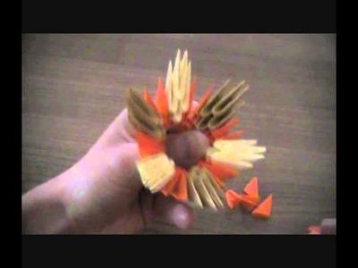 Origami 3D : Comment faire un panier