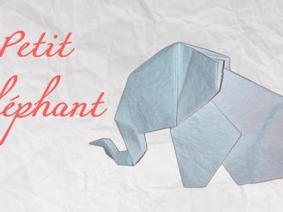 Origami ! Eléphant en papier [ HD ]