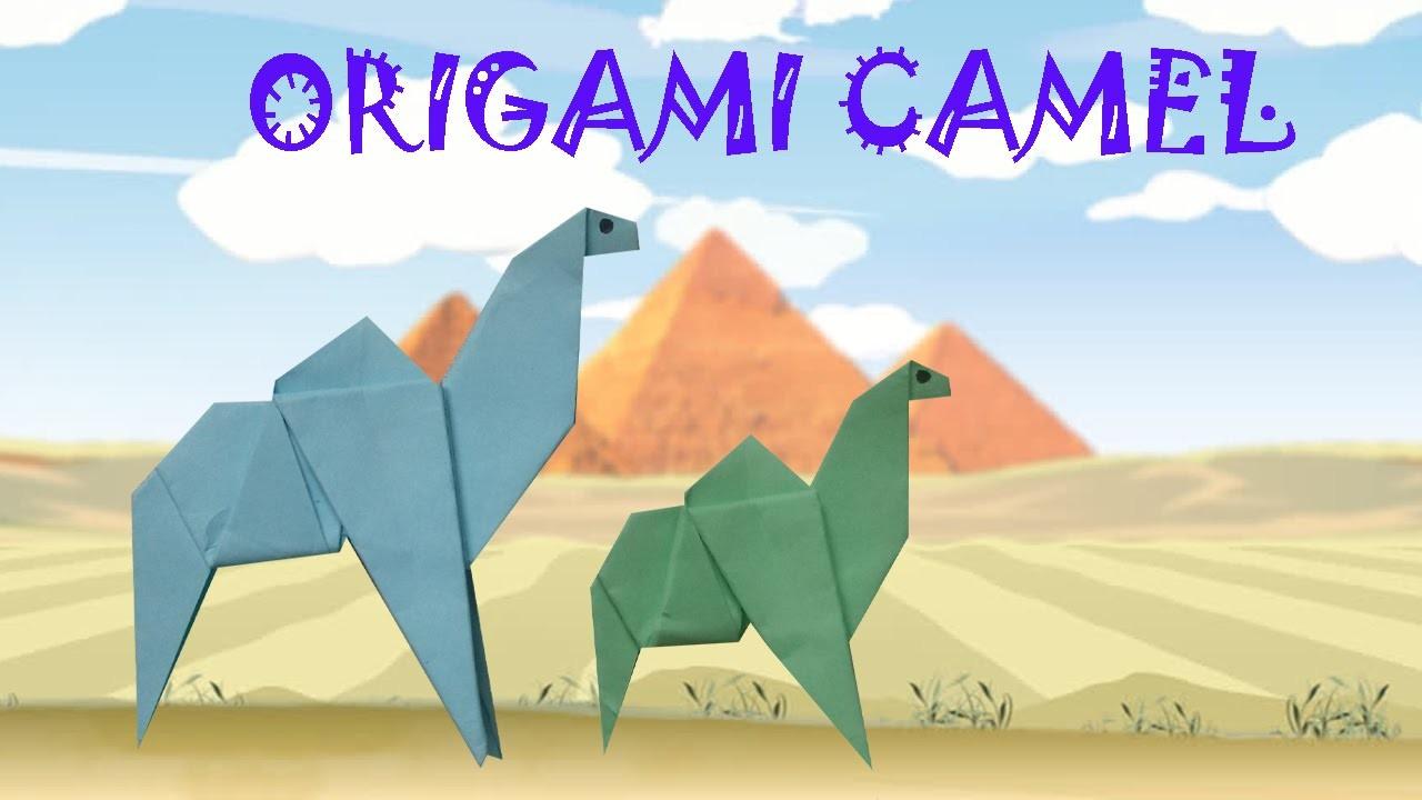 Origami origami facile chameau origami facile for Architecte 3d hd facile tutoriel