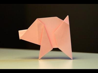 Origami - Porcelet - Pig [Senbazuru]