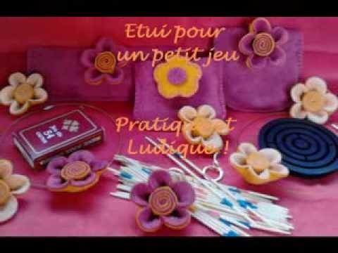 Feutrine Accessoires de Mode - Patty Création - Edition Spéciale et Limitée