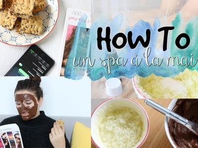 HOW TO : Un spa à la maison ?