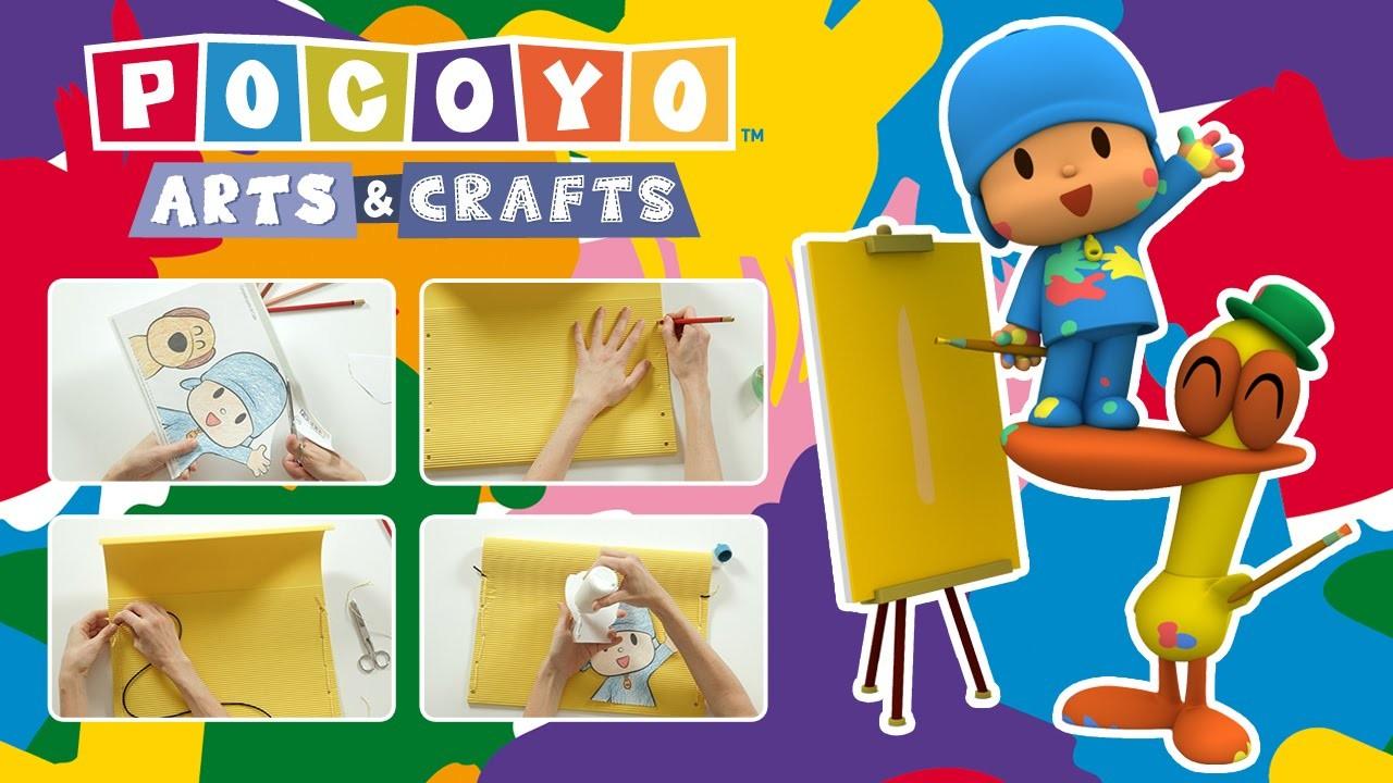 Pocoyo & Crafts - Chemise scolaire   LA RENTRÉE