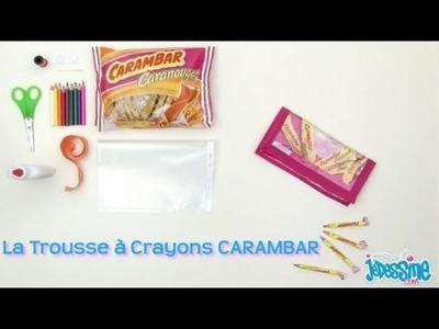 Trousse à crayons Carambar - Les ateliers bricolage Jedessine.com