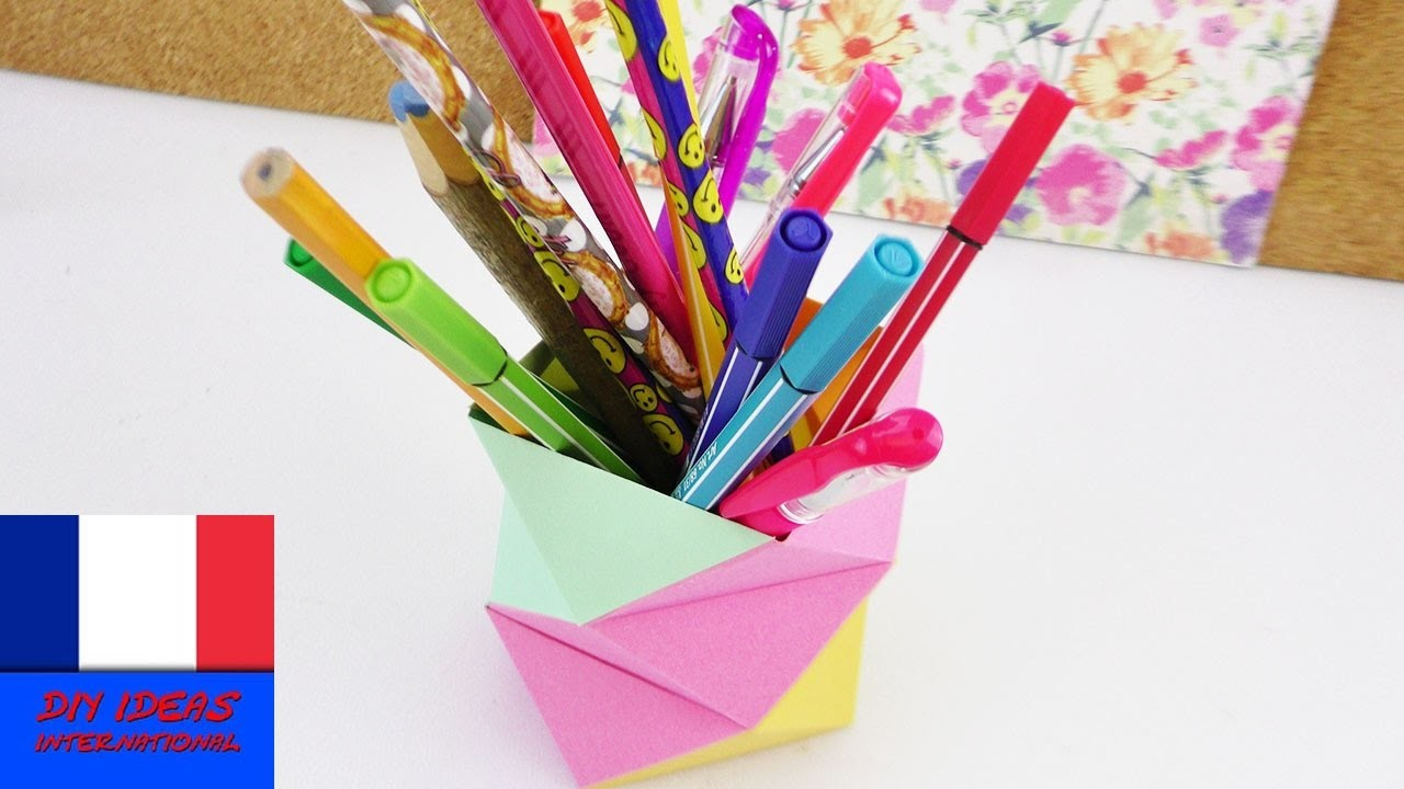 Bricoler un pot à crayons | Super simple & Super idée déco | Back to School à faire soi-même
