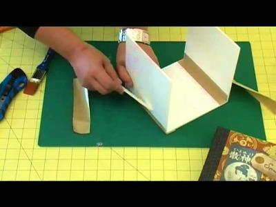 Monter une boite en carton - Tutoriel par trucsetdeco.com
